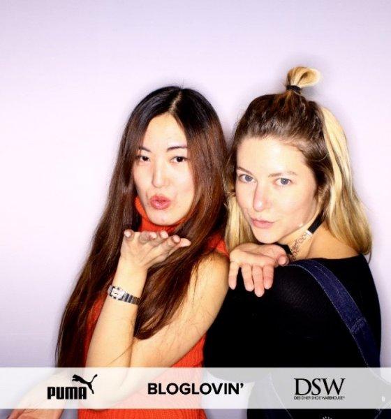 Bloglovin' x DSW x Puma Vikky Platform Sneaker Launch
