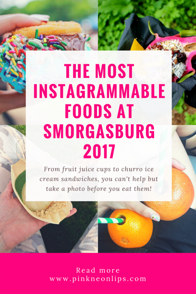 instagrammable foods at smorgasburg 2017