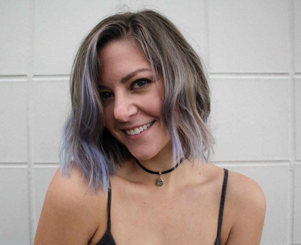 blue hair dye review