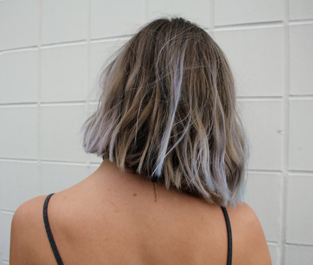blue hair dye review