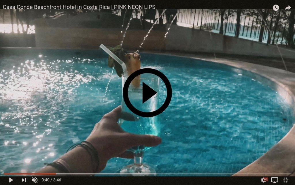 Costa Rica boutique hotel vlog