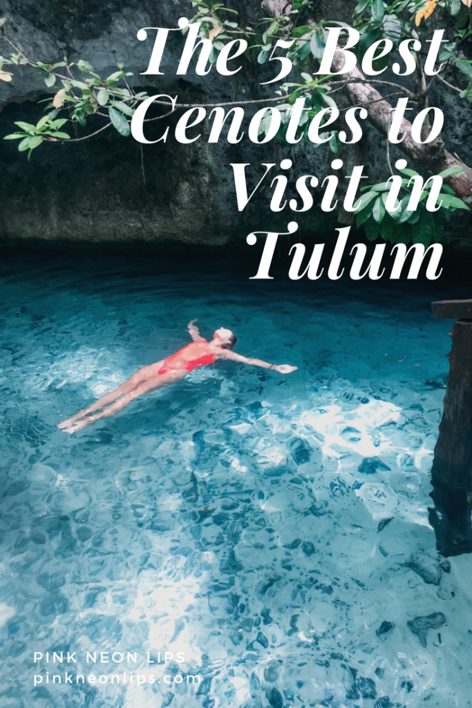 the best cenotes in tulum