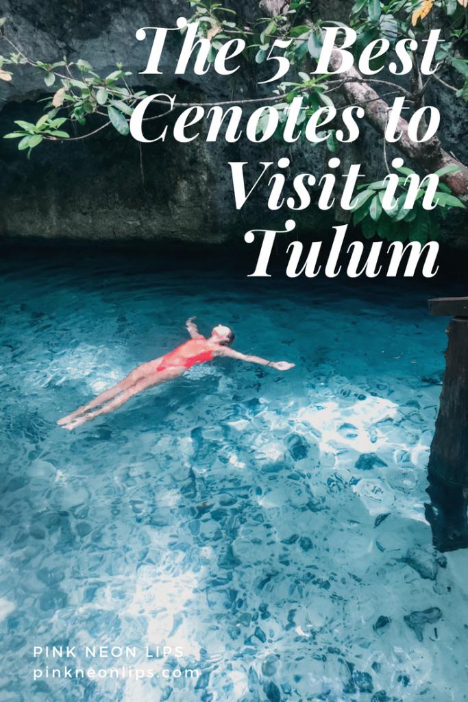 the best cenotes in tulum