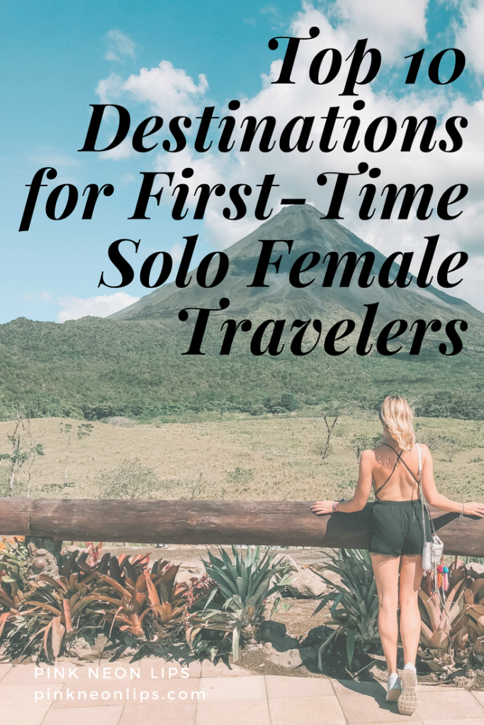 solo female travel destinations
